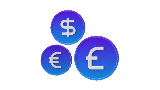 Hold your gambling funds securely in the Luxon Pay multi-currency wallet, send and receive money in 10 major currencies.